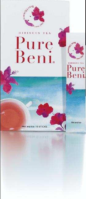 ハイビスカスの飲み物をお探しなら | 琉球ハーブパウダー「Pure Beni (ピュア ベニ)」