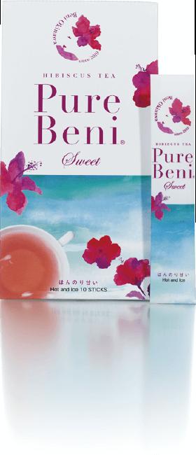 ハイビスカスの飲み物をお求めなら | 琉球ハーブパウダー「Pure Beni Sweet (ピュア ベニ スウィート)」